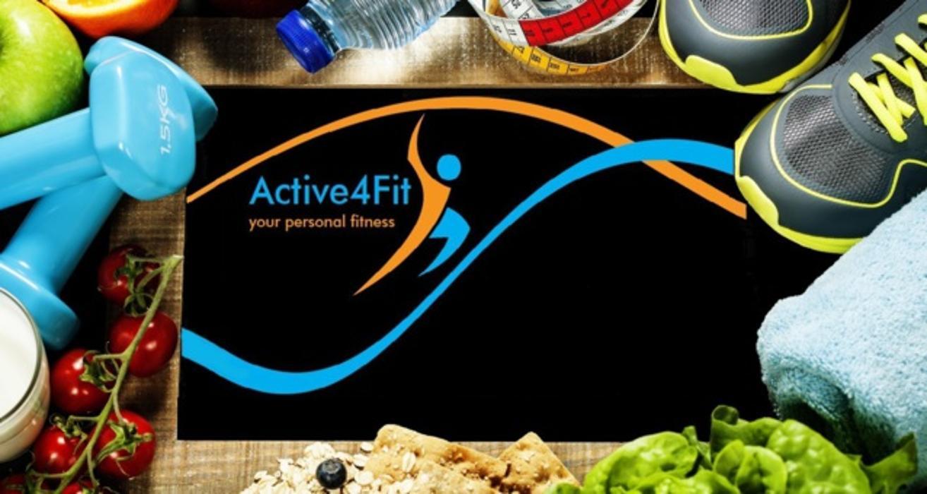 Logo von Active4Fit Personal Trainer Bianca Zöller
