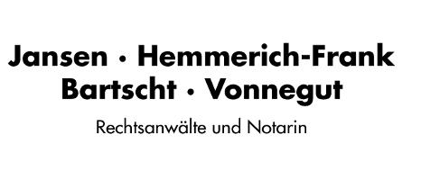 Jansen, Hemmerich-Frank, Bartscht, Vonnegut, Rechtsanwälte u. Notarin