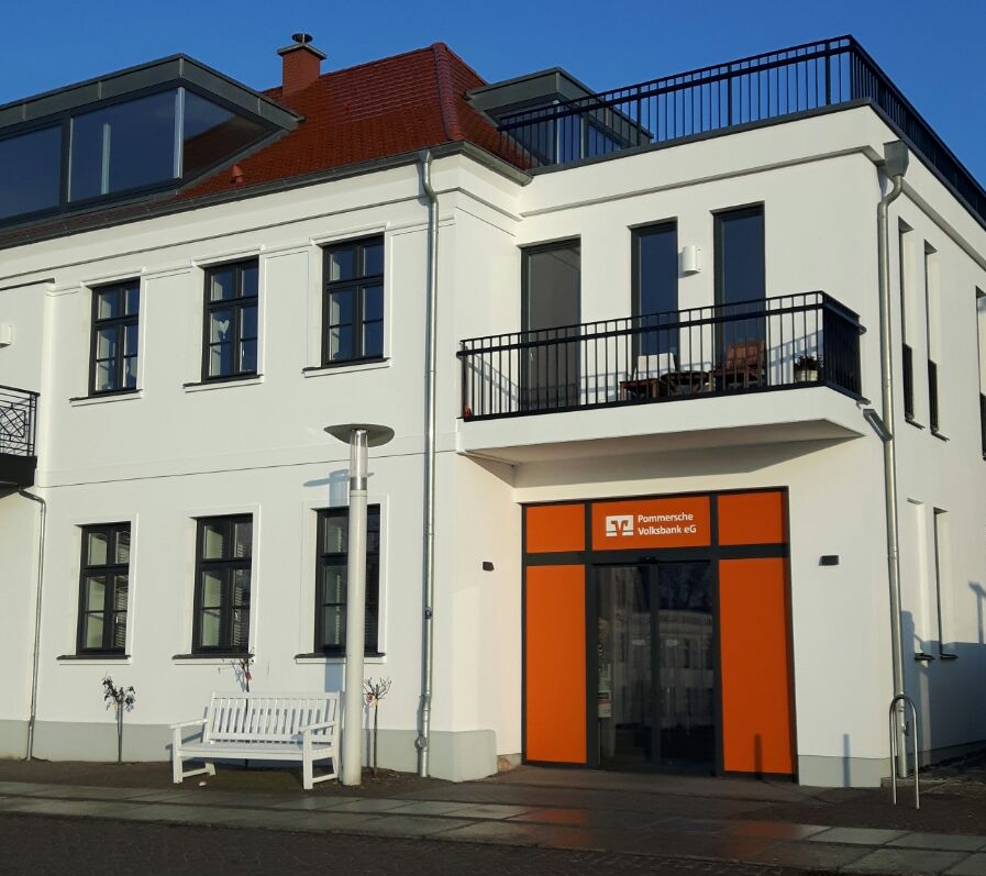 Foto de Pommersche Volksbank eG, Geschäftsstelle Putbus