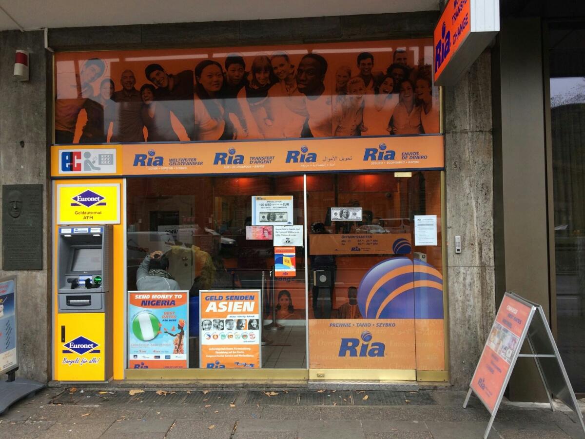 Ria Deutschland GmbH Frankfurt Hauptbahnhof