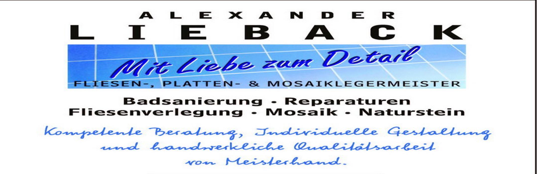 Bild zu Alexander Lieback Fliesenleger Meisterbetrieb in Gengenbach