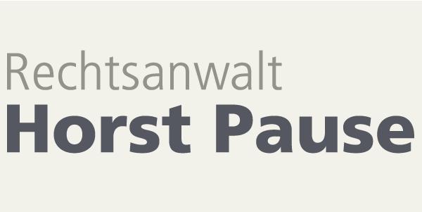 Rechtsanwalt Horst Pause
