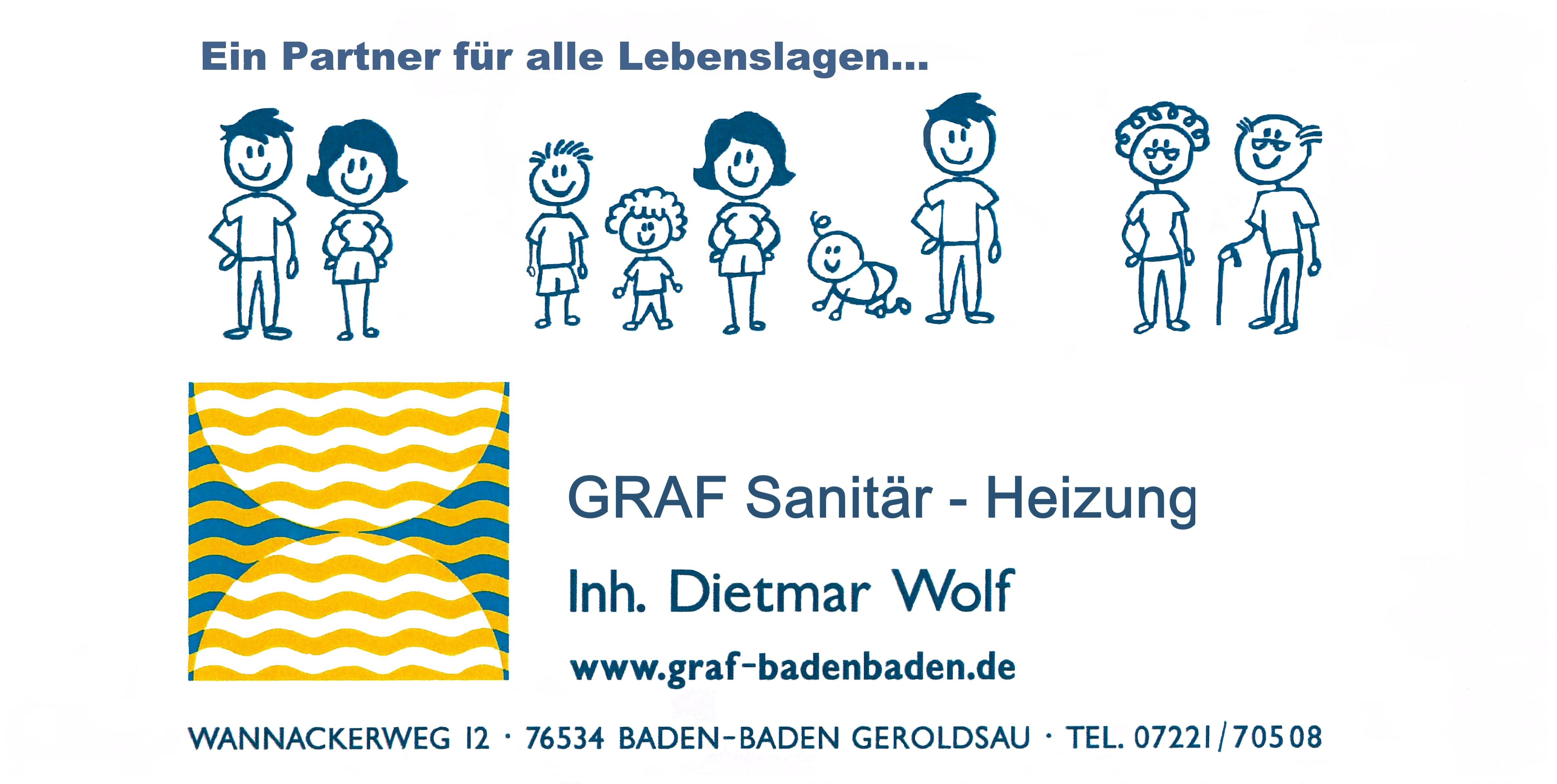 Graf Sanitär - Heizung, Inhaber Dietmar Wolf