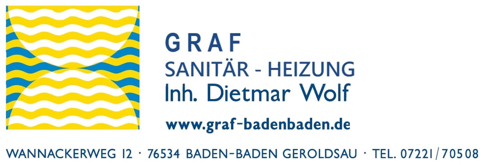 Bild zu Graf Sanitär - Heizung, Inhaber Dietmar Wolf in Baden-Baden