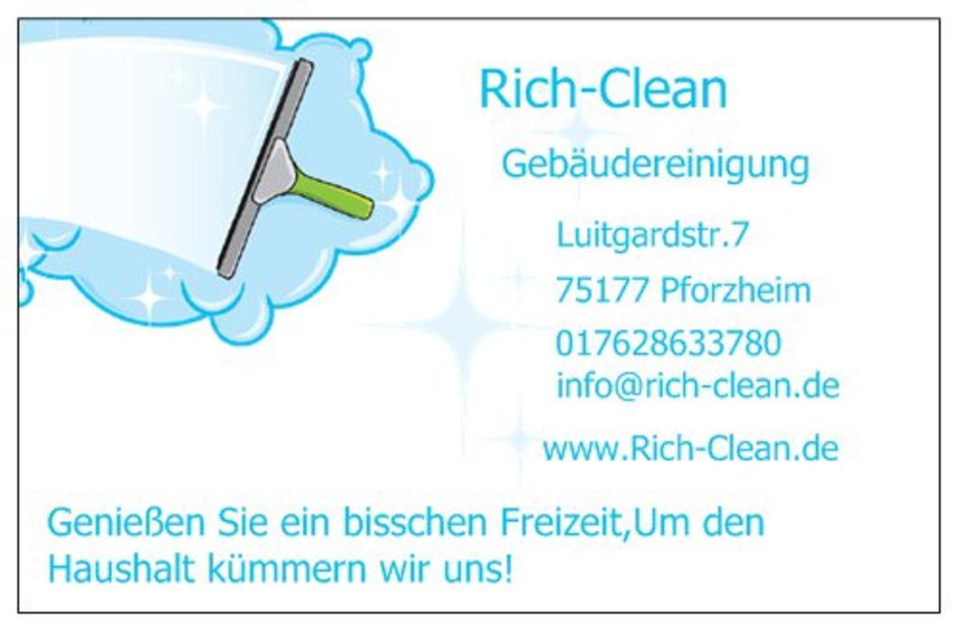 Bild zu Rich-Clean Gebäudereinigung in Kieselbronn