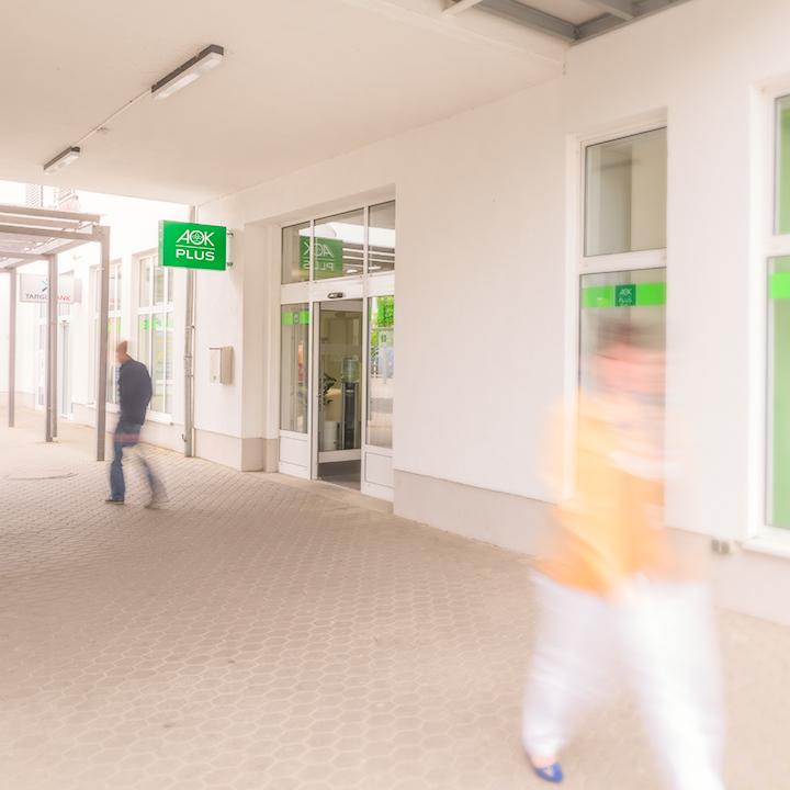 AOK PLUS - Filiale Leipzig Grünau