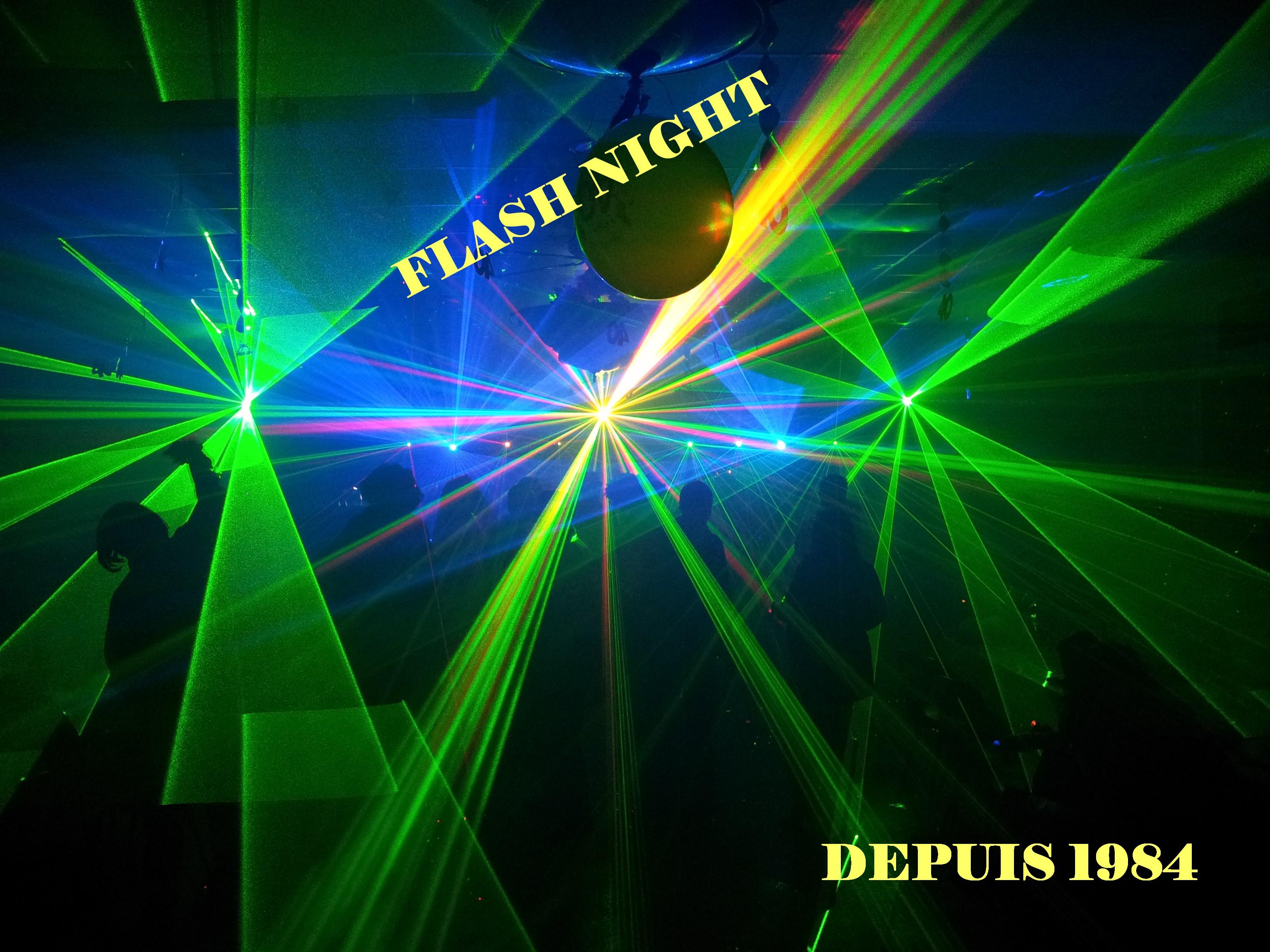 Flash Night Sonorisation dj animateur pour mariage à calais