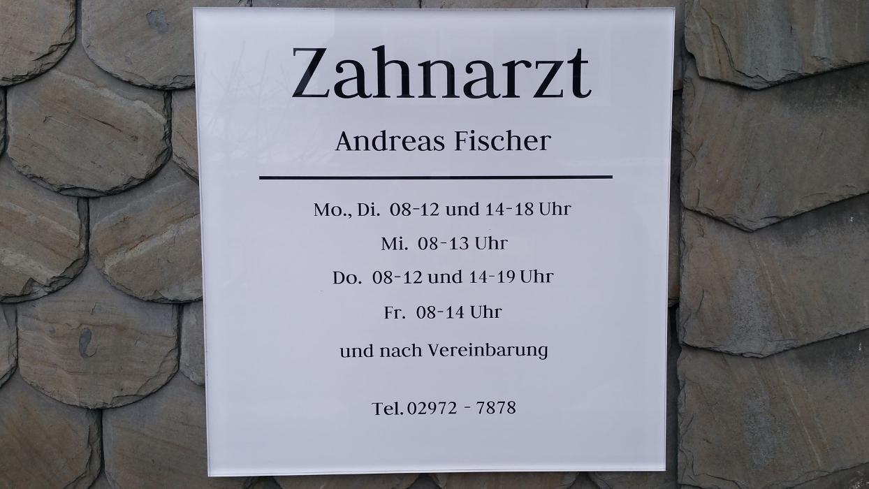 zahnarzt andreas fischer schmallenberg weststra e 5. Black Bedroom Furniture Sets. Home Design Ideas