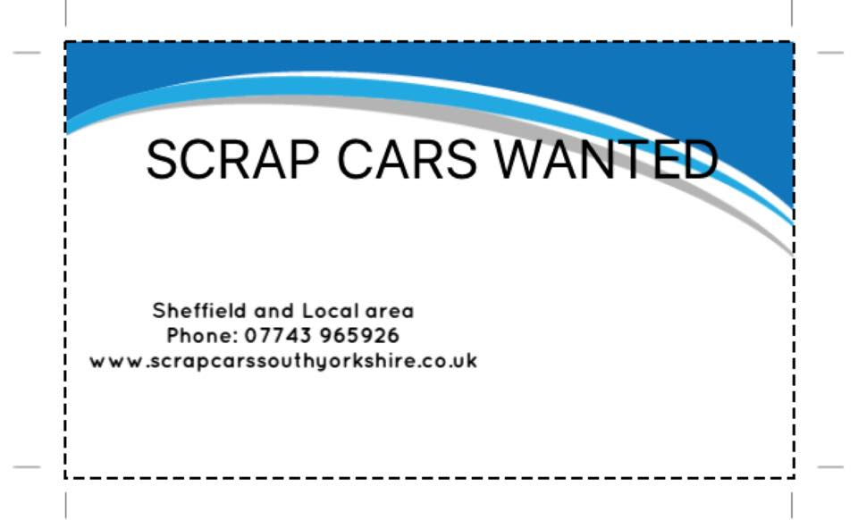 scrap cars south yorkshire