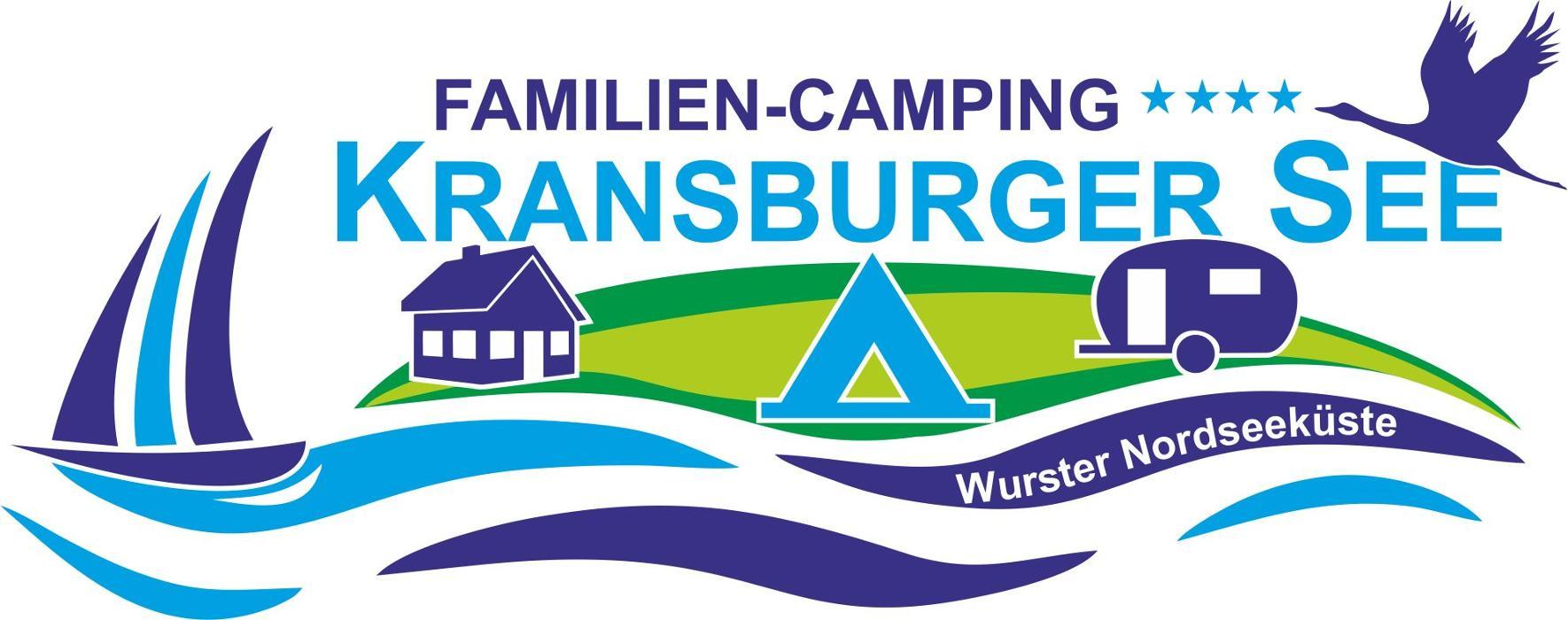 Logo von Familien-Camping Kransburger See