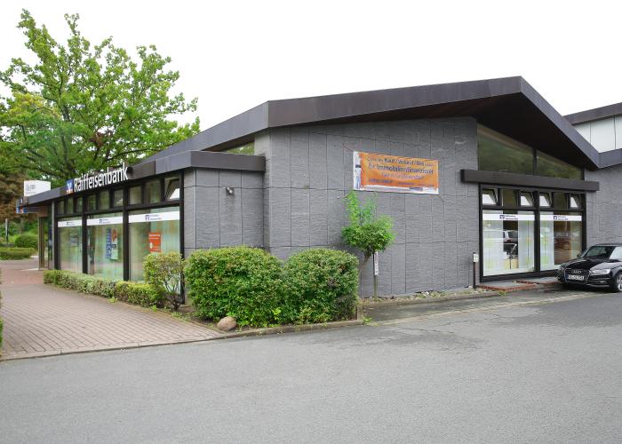 Raiffeisenbank Südstormarn Mölln eG, Geschäftsstelle Großhansdorf | Sieker Landstr. 120, 22927 Großhansdorf | 04102 6060