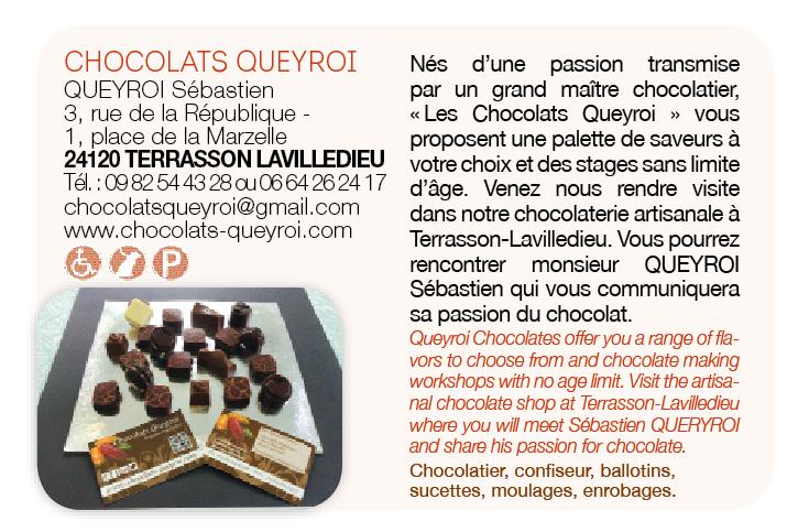 Chocolats Queyroi