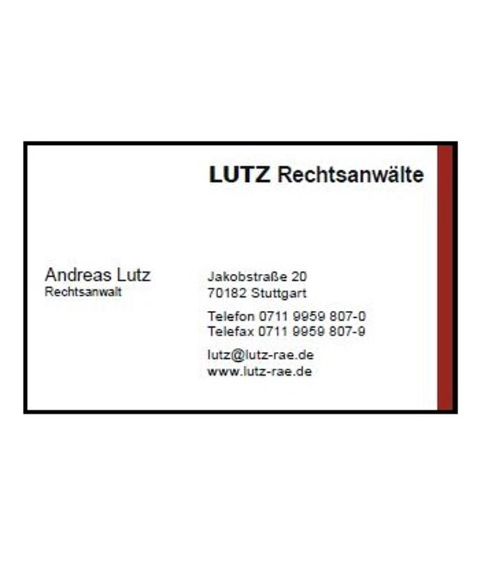 LUTZ Rechtsanwälte