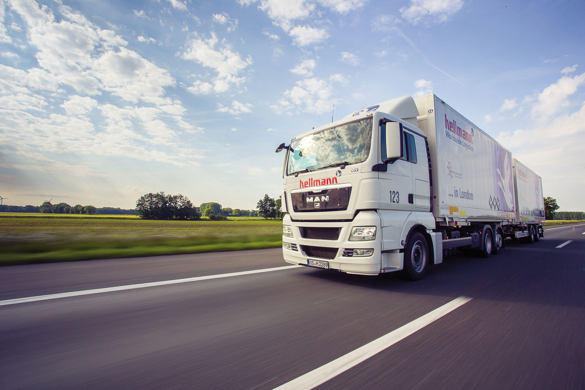 Hellmann Worldwide Logistics - Open Yard