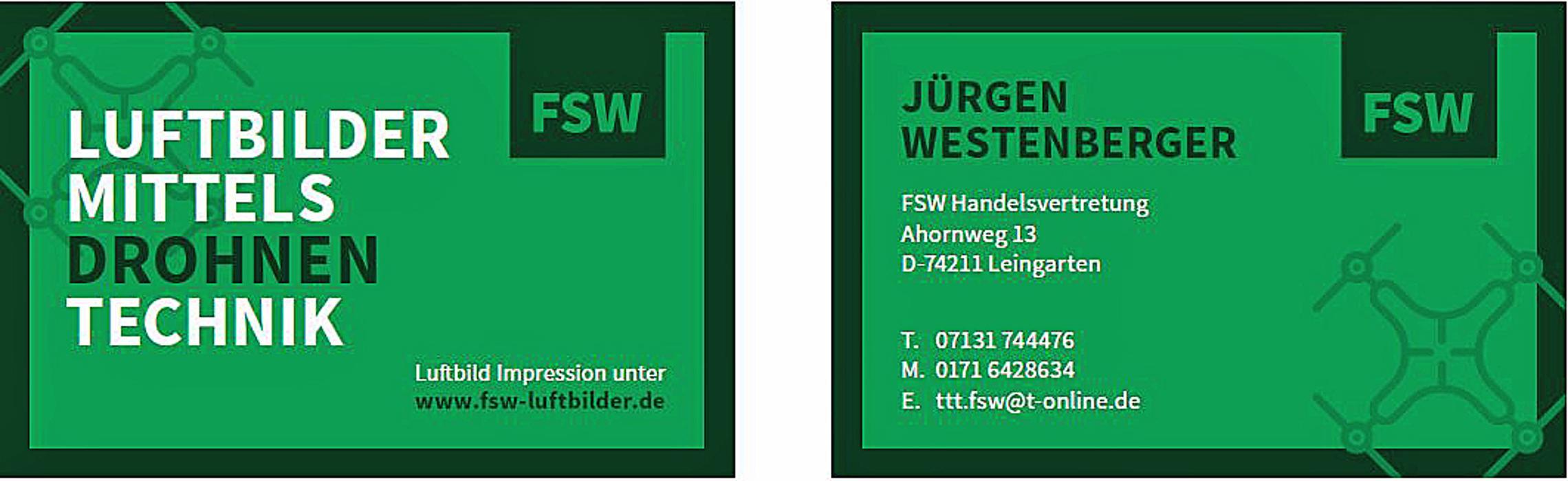 Bild zu FSW Handelsvertretung Jürgen Westenberger in Leingarten