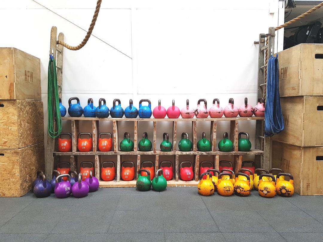 CrossFit - Les Enfants de la Barre