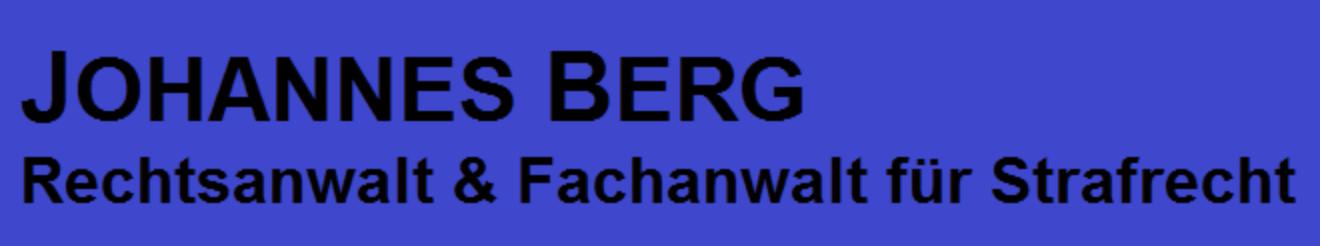 Johannes Berg Fachanwalt für Strafrecht