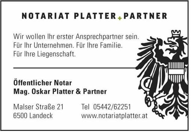 Notariat Platter + Partner