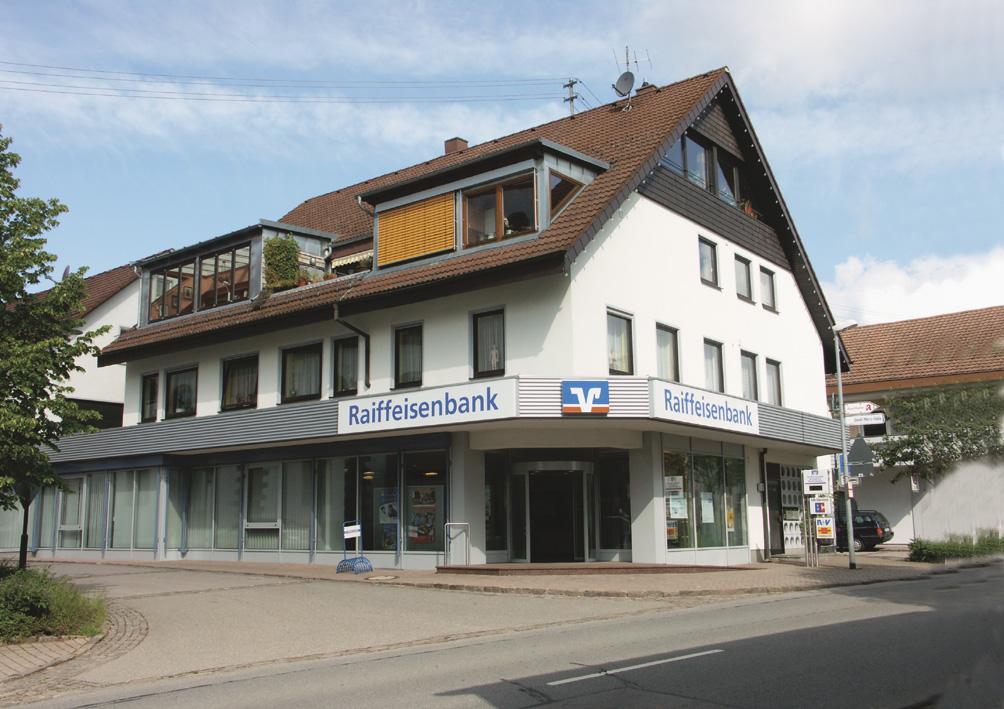 Raiffeisenbank Aichhalden-Hardt-Sulgen eG, Filiale Aichhalden