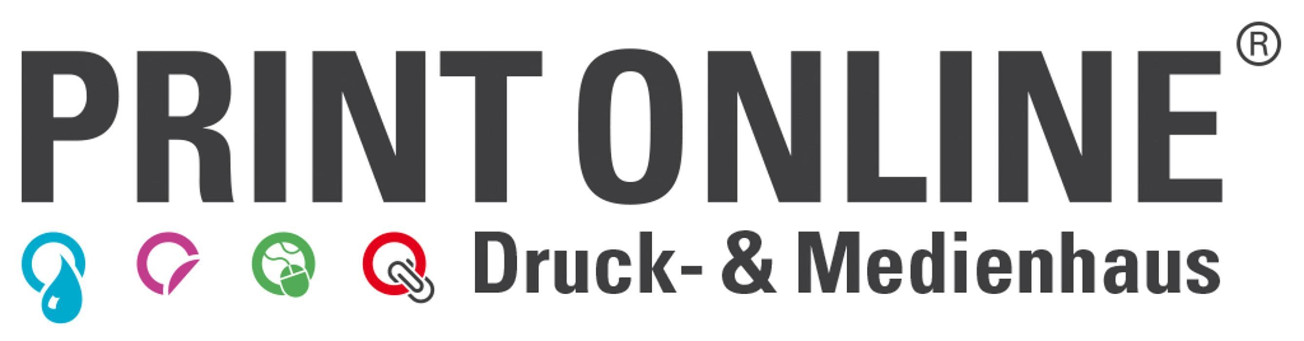 Logo von Print ONLine digitale Drucktechnik GmbH