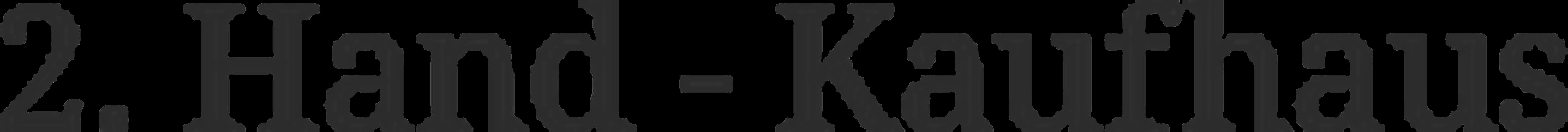 Logo von 2. Hand Kaufhaus