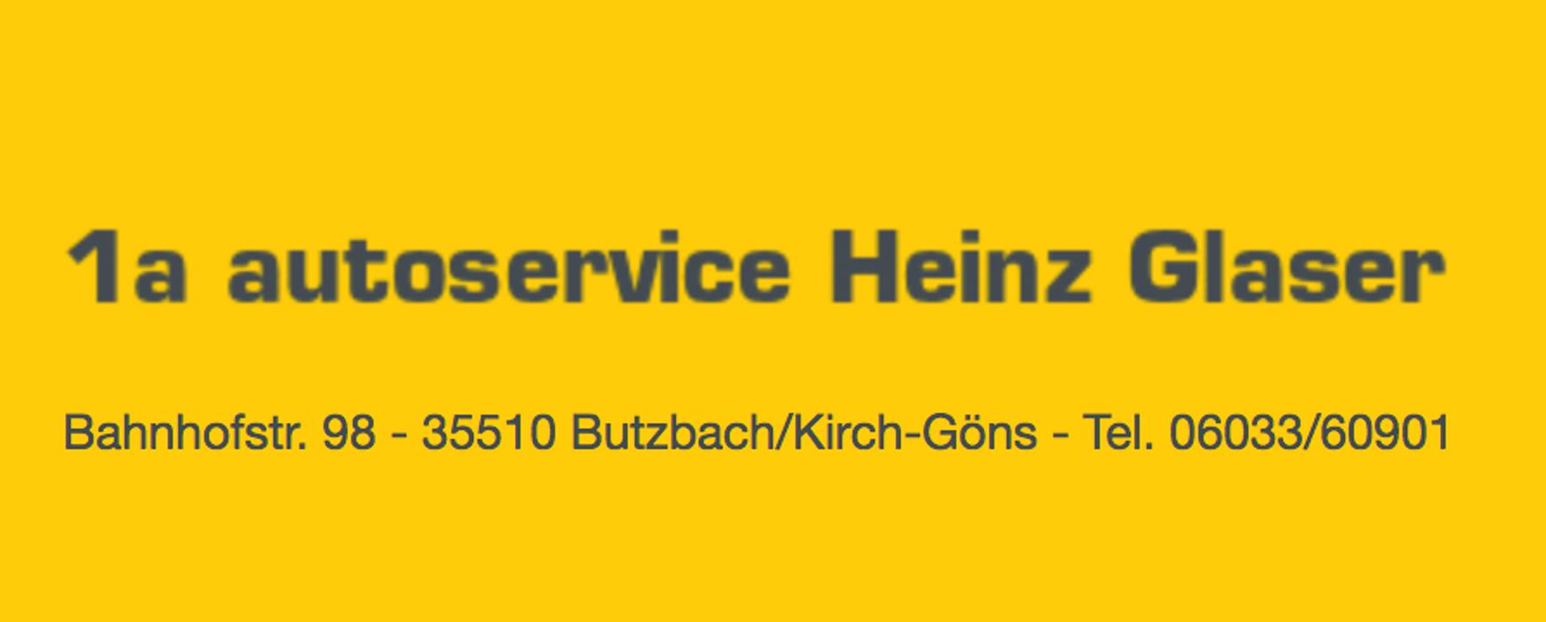 Logo von 1a autoservice Inh. Heinz Glaser
