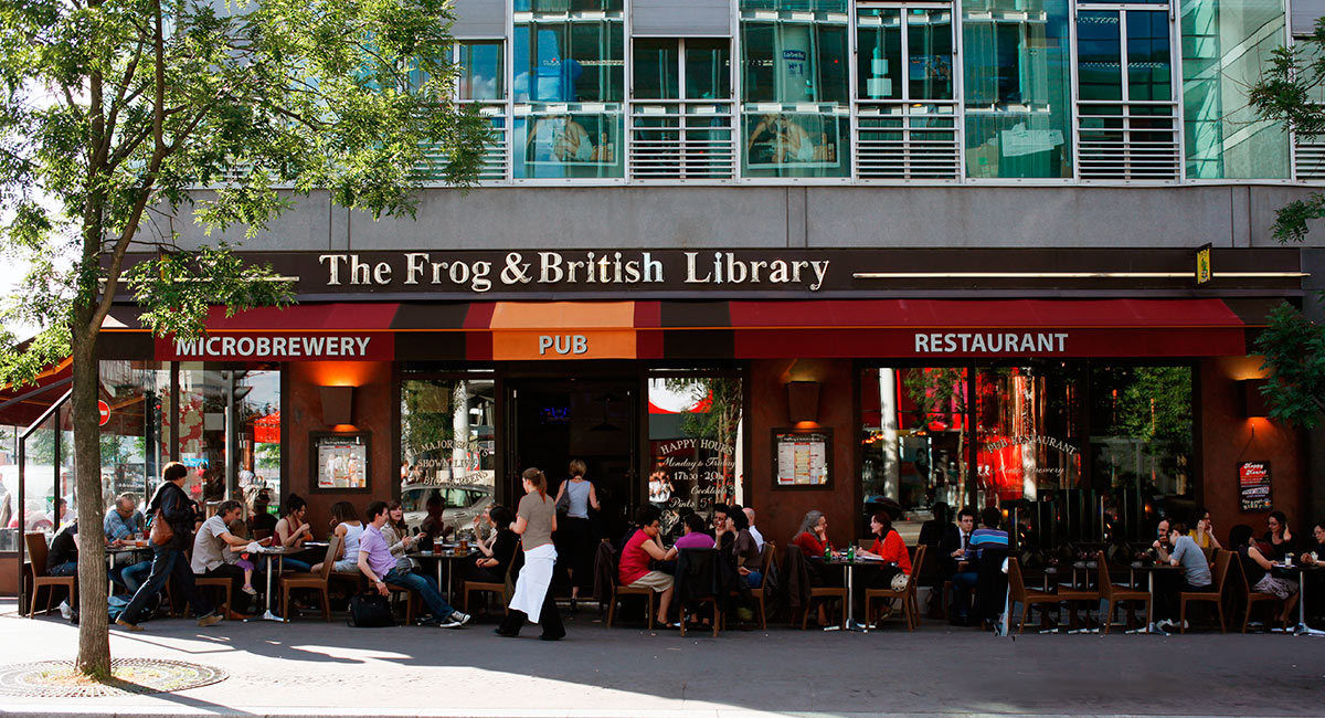 The Frog & British Library