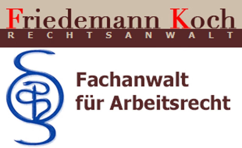 Bild zu Friedemann Koch Rechtsanwalt Fachanwalt für Arbeitsrecht & Medizinrecht in Berlin