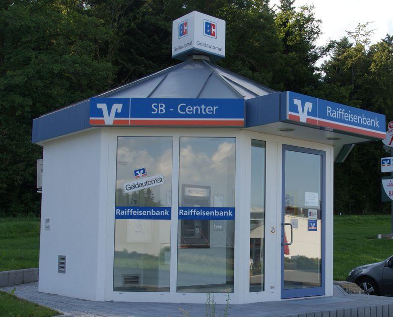 Raiffeisenbank im Kreis Calw, Geldautomat Oberriedt