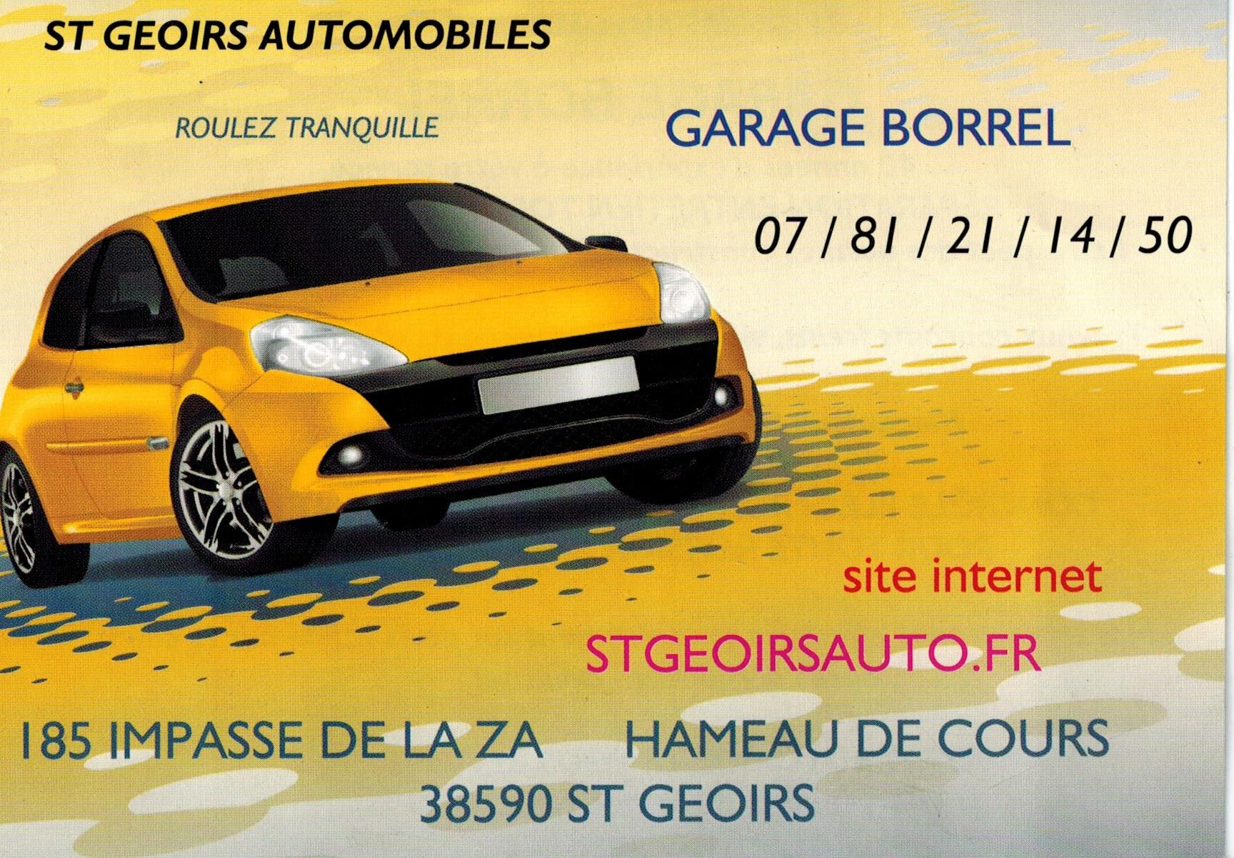 GARAGE BORREL ST GEOIRS AUTOMOBILES