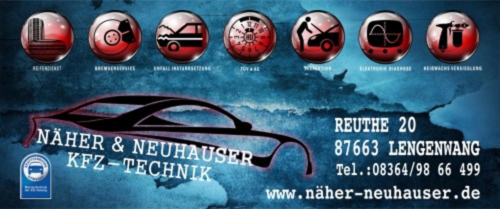 Bild zu KFZ-Technik Näher & Neuhauser GbR in Lengenwang