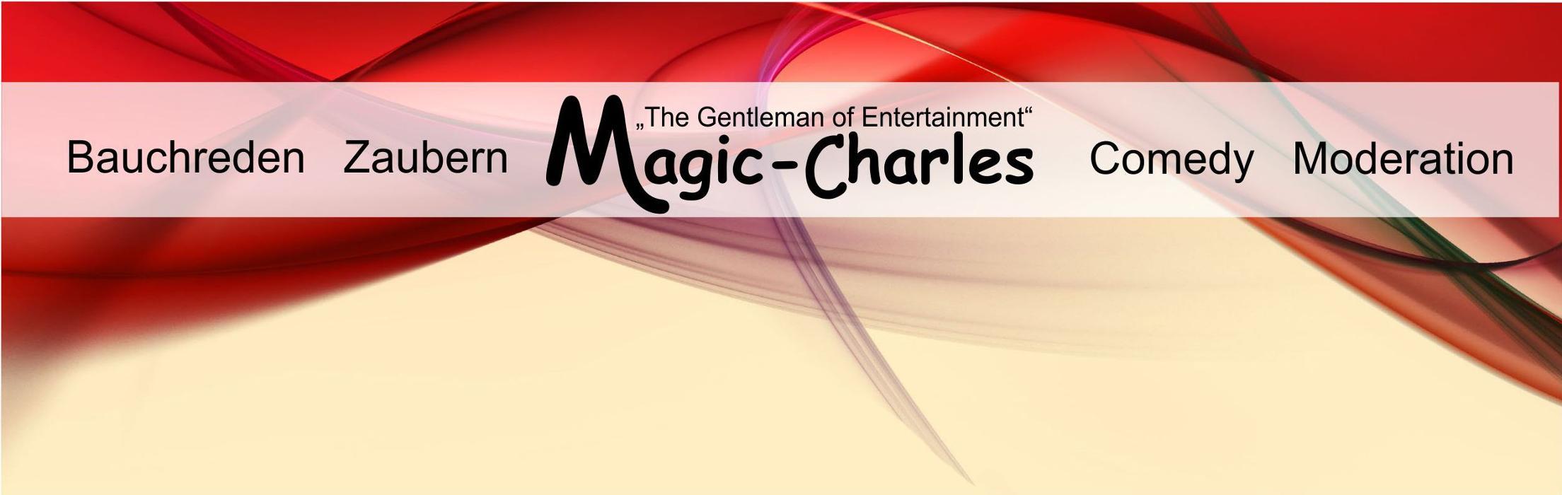 Logo von Zaubern Bauchreden Comedy Moderation, Magic-Charles