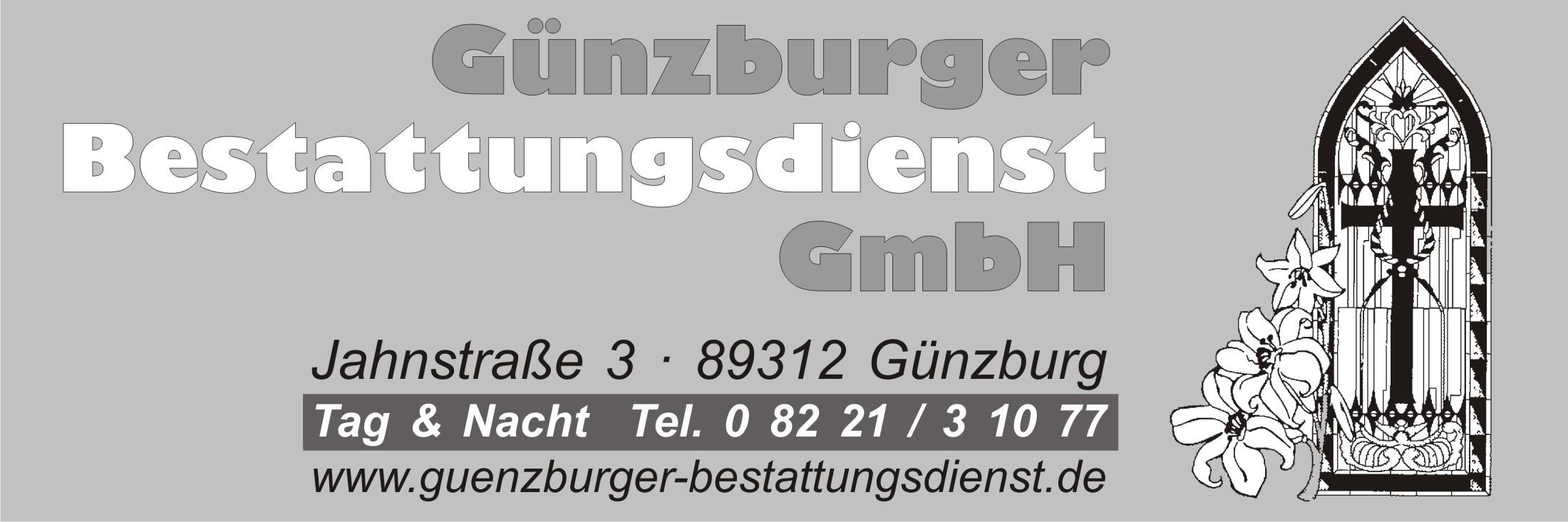 Günzburger Bestattungsdienst GmbH Logo