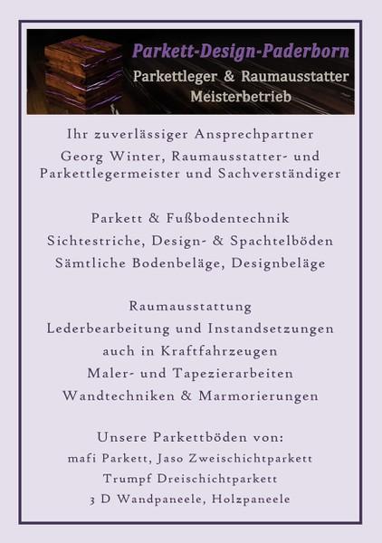 Raumausstatter Paderborn parkettdesign paderborn in paderborn branchenbuch deutschland