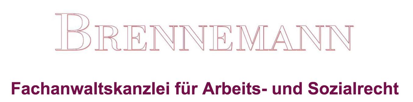 S. G. Brennemann Rechtsanwältin Logo