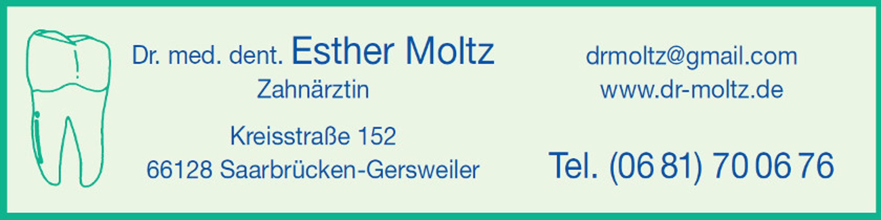 Dr. med. dent. Esther Moltz