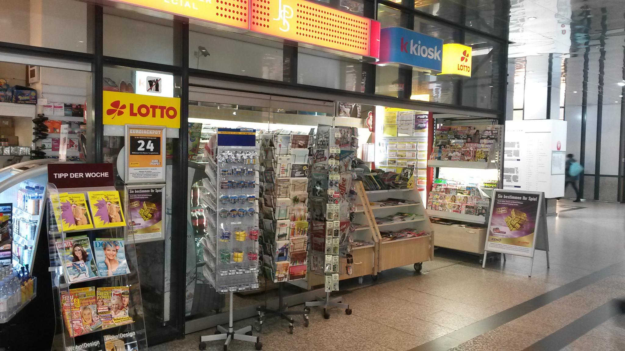 Keno kiosk