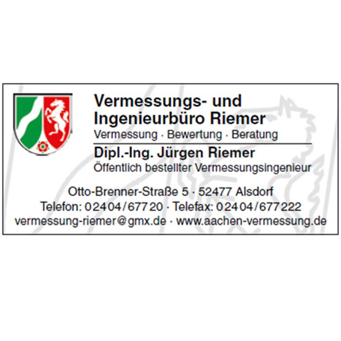 Bild zu Vermessungsbüro Riemer - Öffentlich bestellter Vermessungsingenieur in Alsdorf im Rheinland