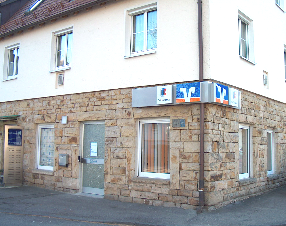 Volksbank Kirchheim-Nürtingen eG, Filiale Nürtingen-Oberensingen (SB-Stelle)
