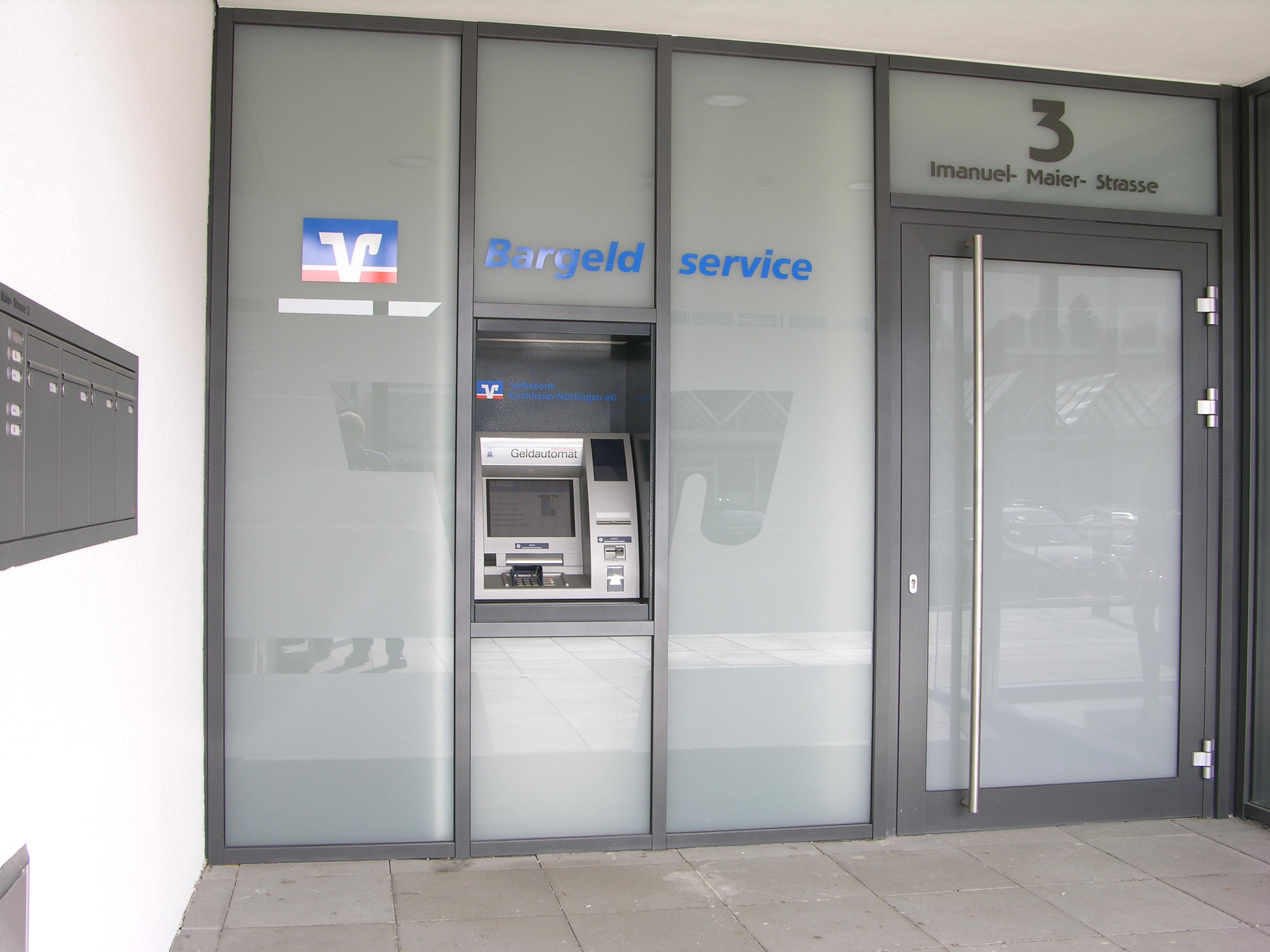Volksbank Kirchheim-Nürtingen eG, Filiale Köngen AWG-Center (SB-Stelle)