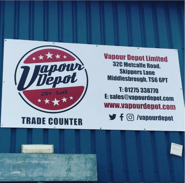 Vapour Depot Limited - Middlesbrough, North Yorkshire TS6 6PT - 01275 338770 | ShowMeLocal.com