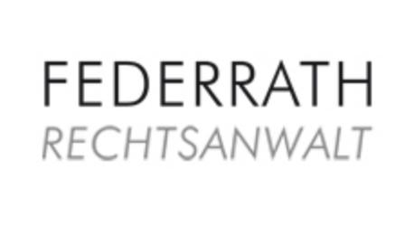 Jörg Federrath Rechtsanwalt Logo