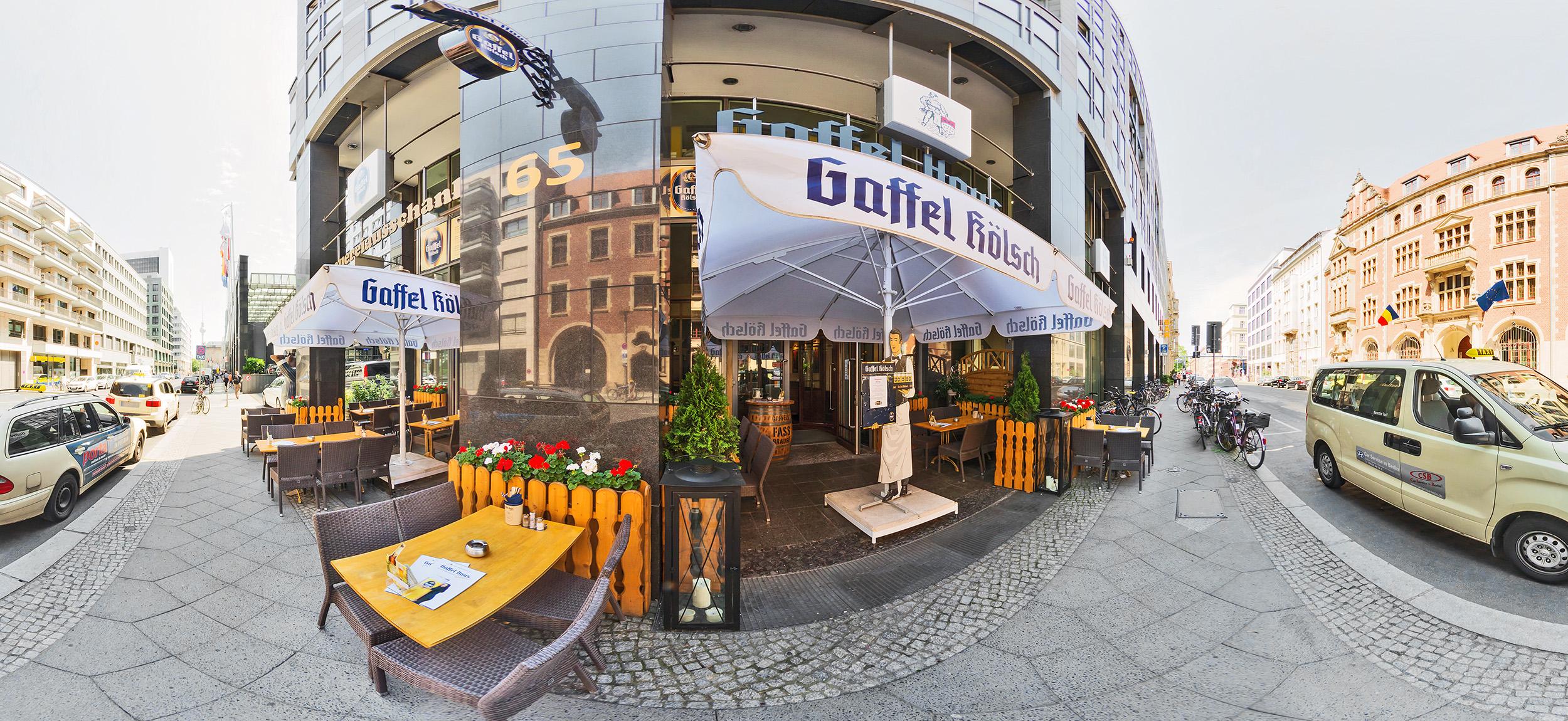 Gaffel Haus Berlin an der Friedrichstraße - Kölsches Konsulat