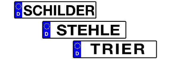 Schilder Stehle GmbH Schilder aller Art