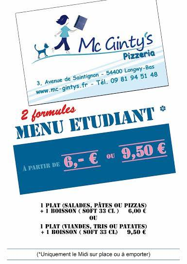Mc Ginty's Pizzeria