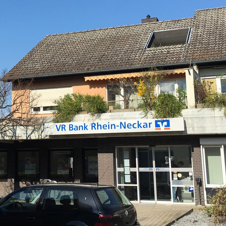 VR Bank Rhein-Neckar eG, Filiale Neckarhausen