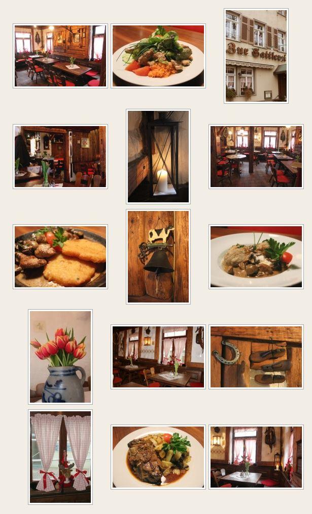 gastst tte zur sattlerei restaurants stuttgart deutschland tel 0711552. Black Bedroom Furniture Sets. Home Design Ideas