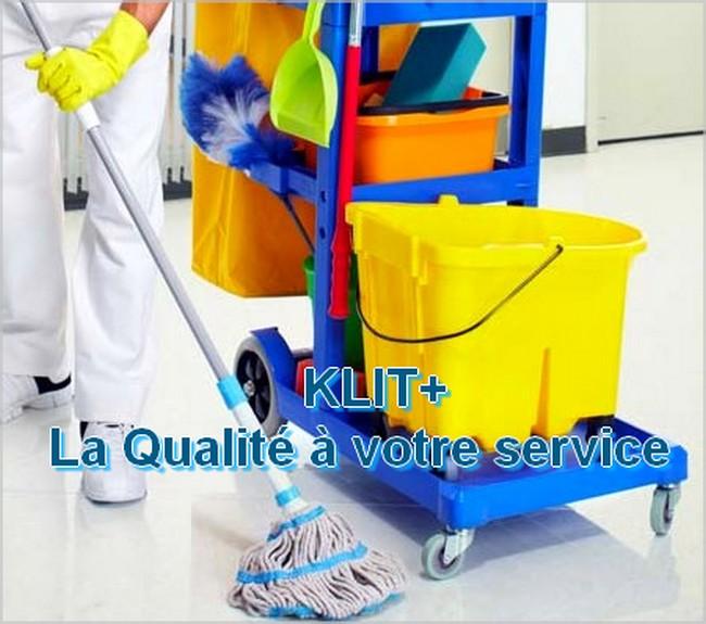 Société de nettoyage SARL KLIT+