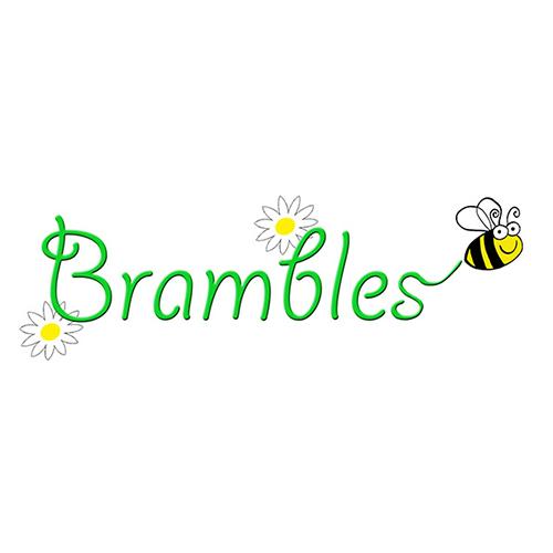 Brambles Floristry Logo