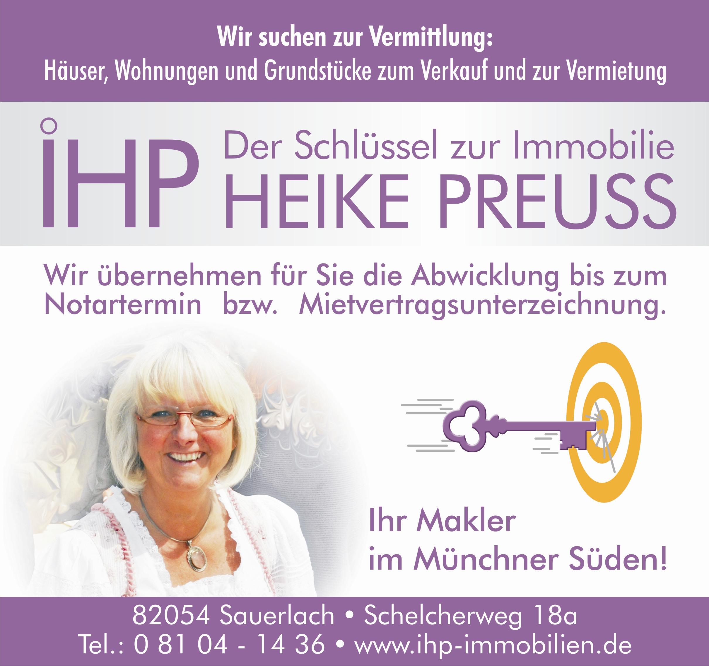 IHP-Immobilien Heike Preuss